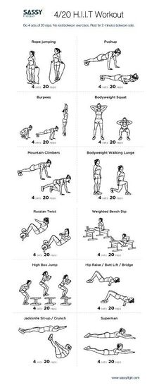 HIIT workout - This looks like death but I'm sure I'll feel great after!