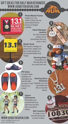 Gift ideas for runners who love to run half marathons!