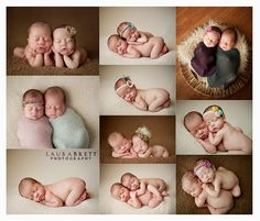 newborn twin photography - Google Search