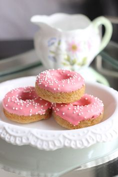 Sugar Cookie Donuts