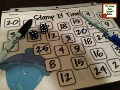 Classroom Freebies Too: Winter Stamp It Time! - Multiplication