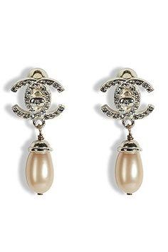 Vintage #Chanel Earrings