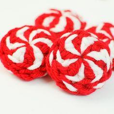 Peppermint Swirl Candies « The Yarn Box