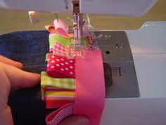 jean tutori, ribbon embroidery stitches, kid cloth, craft idea, baby dolls