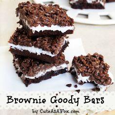 Cute As a Fox: Brownie Goody Bars