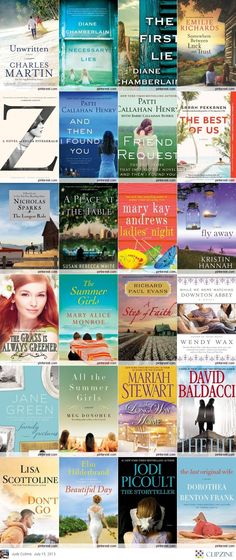 """2013 """"Must Read"""" Books...not that I'm going to read them but I like the graphic!"""