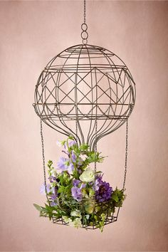 Hovering Hot Air Balloon from BHLDN