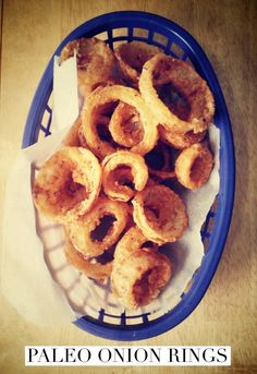 Paleo Onion Rings! (Gluten/Grain/Dairy/Nut Free) | Brittany Angell