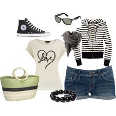 Saturday's shopping, created by babbel25.polyvore.com