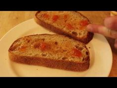 Food Wishes Recipes - Grilled Ham Cheese and Peach Panini Sandwich - IMUSA Panini Press Test