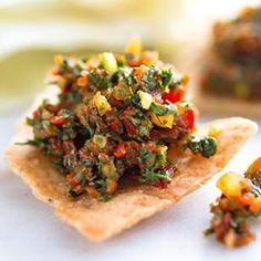 Looking for a new salsa recipe? Here's one to get you in the Olympic spirit – Sochi Salsa