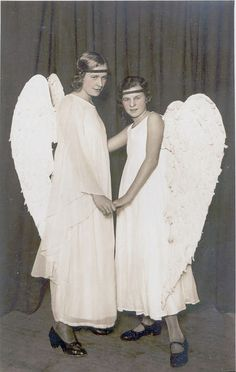 Pageant angels.