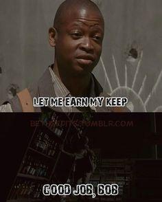 The Walking Dead memes season 4 Bobs, Walks Dead, The Walking Dead, Halloween Halloweenmakeup, Living Zombies, Funny Stuff, Dead Walks, Dead Freak, Living Dead