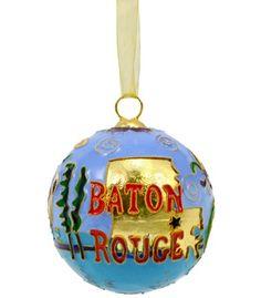 Baton Rouge, Louisiana ornament