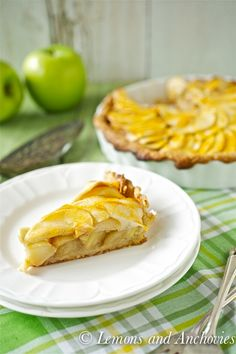 Apple-Banana Tart from @Jean | Lemons and Anchovies