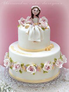 comunione cake