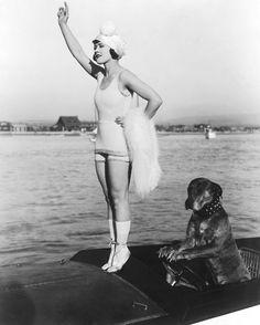 "Gloria Swanson 1917 - ""Teddy at the Throttle"""