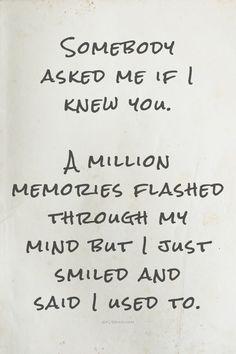 A Million Memories....