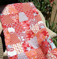Beautiful quilt fab quilt, quilt design, quilt inspir, beauti quilt, quilt idea, quilt art, tumbler quilt