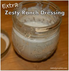The BEST Ranch Seasoning and Dressing EVER! | www.satisfyingeats.com zesti ranch, ranch mix, ranch dressing