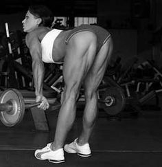 Free weights workout and best hamstring exercises to Tone and Build your legs, strengthen the rear Thighs and Reduce Cellulite. Hamstrings tips for women. Hammi, Bodi, Muscl, Hamstr Exercis, Leg Workout, Fit Motiv, Weight Loss, Legs, Health