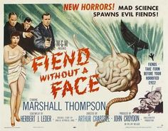 FIEND! Vintage Sci-Fi Movie Poster