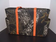Tote/Diaper Bag in Mossy Oak Camo Print by tandmhandmade on Etsy, $70.00