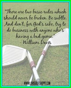 The latter is absolutely crucial so remember it or else you're screwed LOL! #golf #golfthought #lorisgolfshoppe