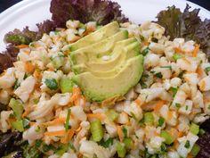 Cilantro shrimp salad AIP, Paleo