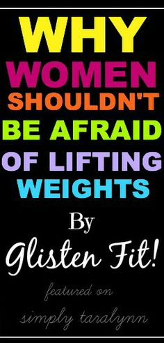 Why Women Shouldn't Be Afraid of Weights! #nobulk