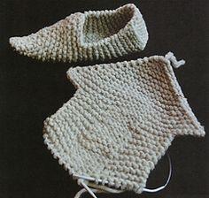 Knitted Clogs by Elizabeth Zimmermann