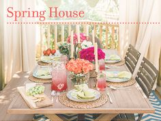 Welcome to the HGTV Spring House Party with our special guest, designer Dan Faires.  For the next hour we're pinning our favorite design trends, custom DIY projects from the HGTV Spring House, and ideas to host your own fabulous spring party!  Remember to refresh your browser often to see the latest pin activity.