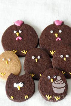 These guys are too funny! by tartas y nubes de azúcar: Galletas de Pascua