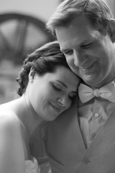 Such a tender intimate moment, slightly washed by the evening sun. Awesome wedding photo and even more at www.anthonyanddarci.com/blog