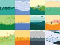 All of the great looking seasonal background images in the new Material Designed Google Calendar app have been set free, come check them out and download them today.