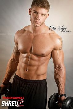 Hot Sexy Men! Gods Colin Wayne Fitness Model
