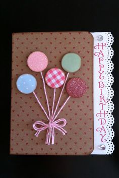 Denami Design Balloon Card