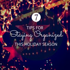 Seven Tips for Stayi