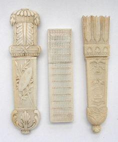 Ivory needle holders