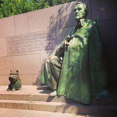 The Franklin Delano Roosevelt memorial is a presidential memorial dedicated to the memory of U.S. President Franklin Delano Roosevelt and to the era he represents.