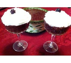 Grape Tapioca Pudding