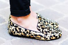 Leopard-Studded-Loafers
