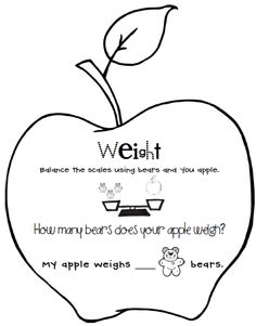 Apple activities and FREE printables.