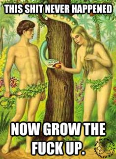 #religion #adam #eve #serpent #sin #christian #christianity #god #atheist #atheism
