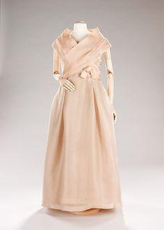 Evening Dress, House of Dior    Designer: Christian Dior  Date:  spring/summer 1957