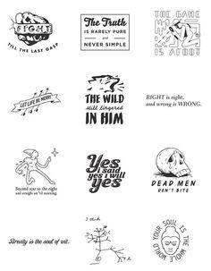 Litograph Literary Temporary Tattoos, all from the classics | CoolMomPicks.com