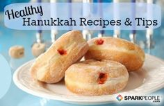 How to enjoy the Hanukkah season without undoing your healthy diet. | via @SparkPeople #holiday #nutrition #food #recipe