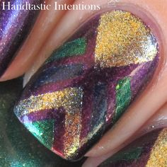 Handtastic Intentions: Finger Paints Masquerade Affair Collection Nail Art