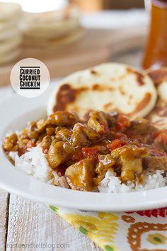 Curried Coconut Chicken. #recipes #foodporn #chicken