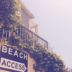 this way to the beach...